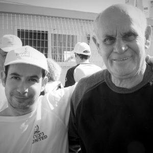 אייל ואביו בטורניר ספיישל אולימפיקס
