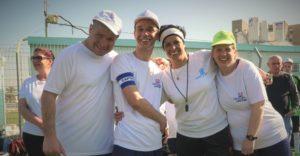 חברי ניצן חיפה יונייטד עם המאמנת בטורניר