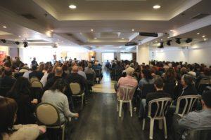 הנוכחים בטקס שנערך במלון גני ירושלים